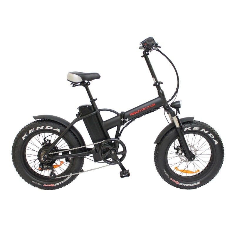 20inch electric bicycle fat tire snow bike 500w high speed motor EBIKE 48V li-ion battery 4.0 tires fold electric mountain bike