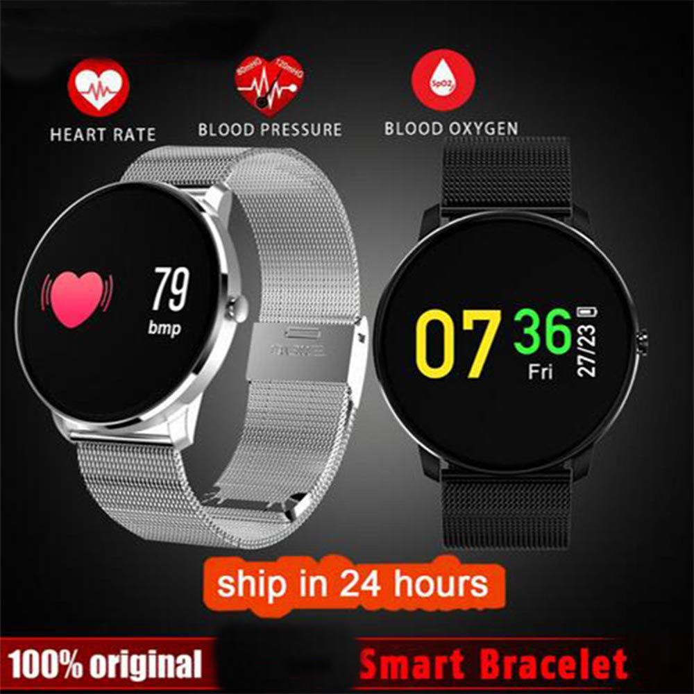 Colorful Moving Bracelet Smart Watch Wristband Heart Rate Blood Pressure Pedometer Smartband for Samsung Galaxy J7 J5 J3 J700F