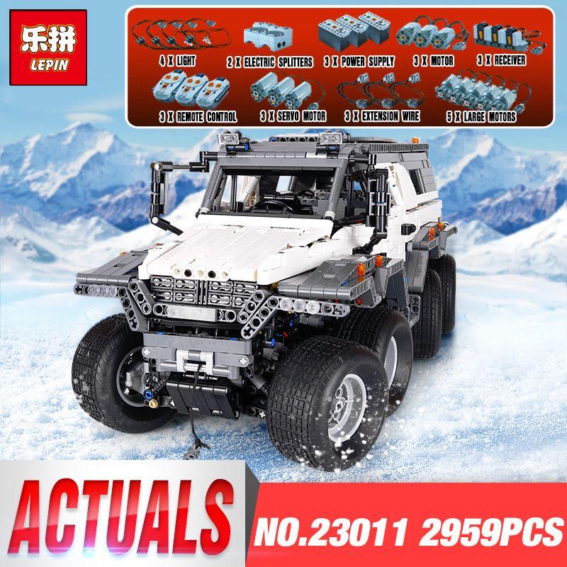 New LEPIN 23011 2959 pcs Technic Series Off-road Vehicle Model Building Kits Block Educational Bricks Christma Toys legoing Gift