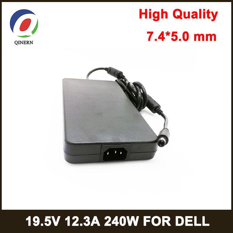 QINERN 240 W Notbook Netzteil 19,5 V 12.3A 7,4*5,0mm PIN GRÖßE Laptop Adapter für Dell AC ladegerät