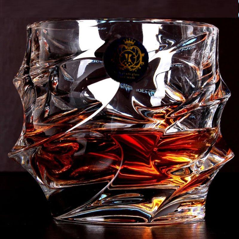 Vente chaude Grand Whisky Verre de Vin Sans plomb Cristal Tasses Haute capacité Verre De Bière Tasse de Vin Bar Hôtel Verres Marque Vaso Copos