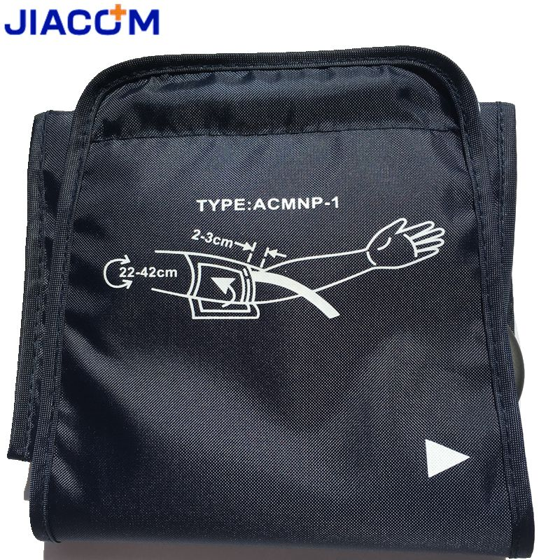 Jiacom 22-42cm large adult blood pressure cuff for arm blood pressure monitor meter tonometer sphygmomanometer