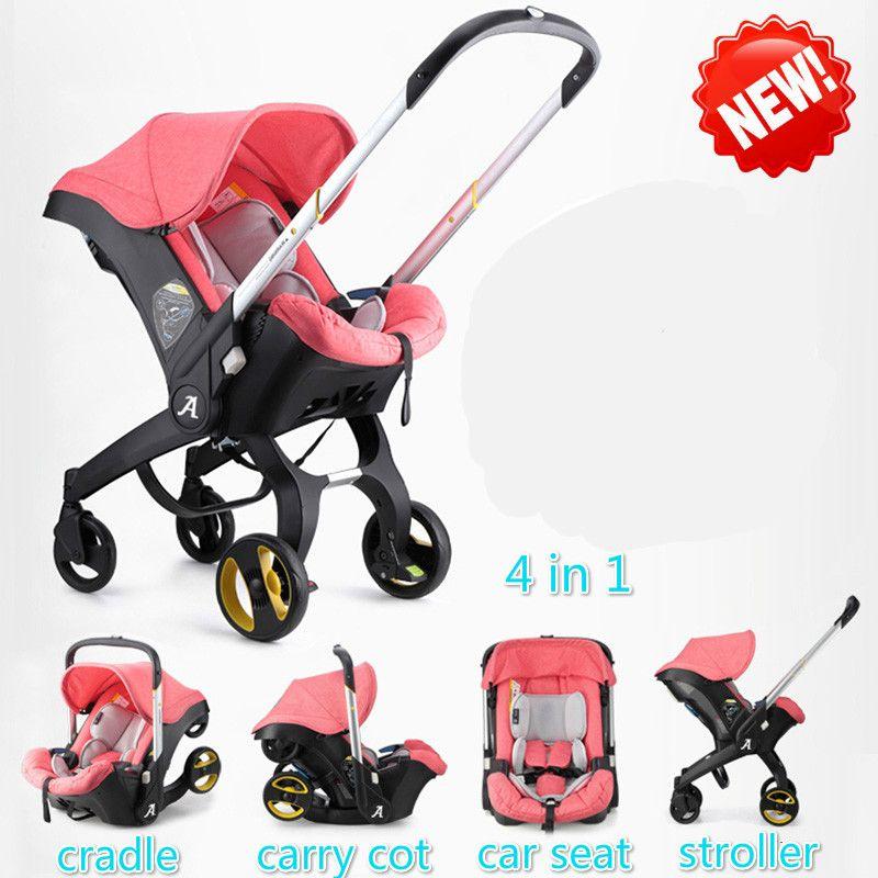 Marke baby kinderwagen 3 in 1 auto klapp licht mit auto sitz kinderwagen und baby stubenwagen Kinderwagen Für Neugeborene Landscope 4 in 1