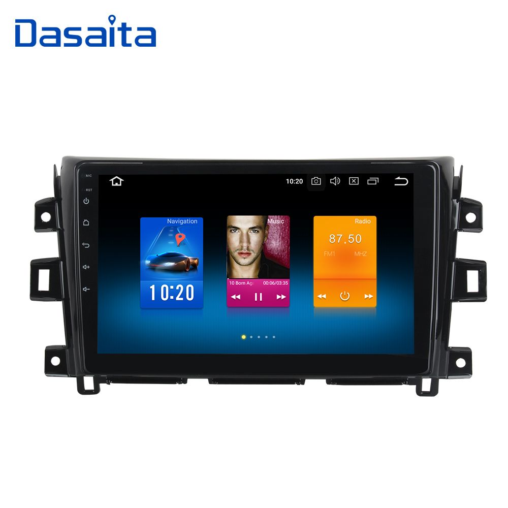 Android 8.0 Car Radio Player for Nissan Navara Touch Screen 2015 2016 2017 with 10.2