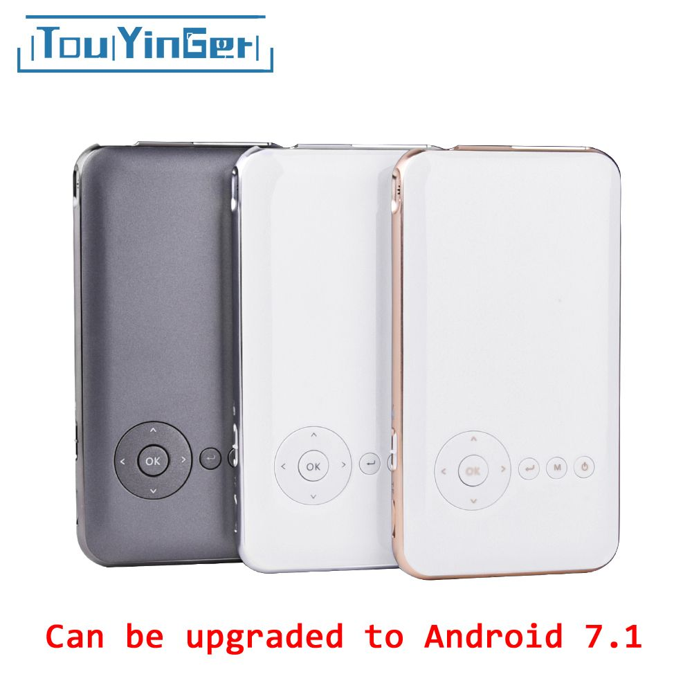 5000mah Touyinger Everycom S6 plus Mini pocket projector dlp wifi portable Handheld smartphone Projector Android AC3 Bluetooth