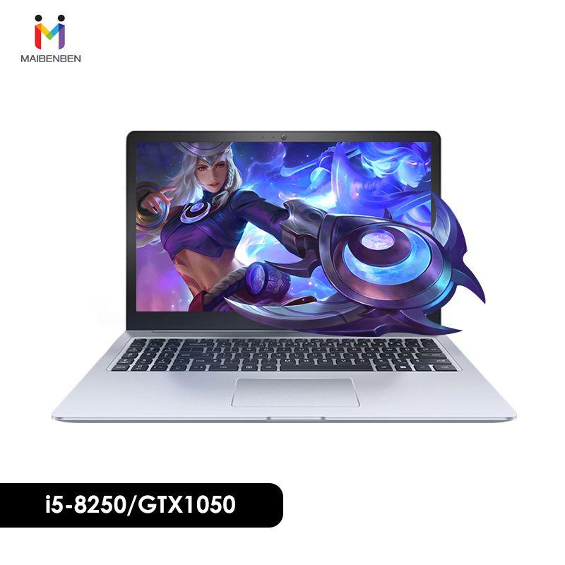 MaiBenBen Damai 6S für Gaming Laptop i5-8250U + GTX1050 4G Grafikkarte/8G RAM/240 G SSD + 1 TB/Dos/15,6