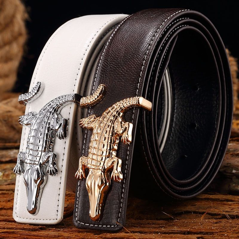 Men Belts <font><b>2017</b></font> Hot Fashion Cowhide Leather New Designer Waistband Famous High quality genuine luxury Brand Straps free shipping
