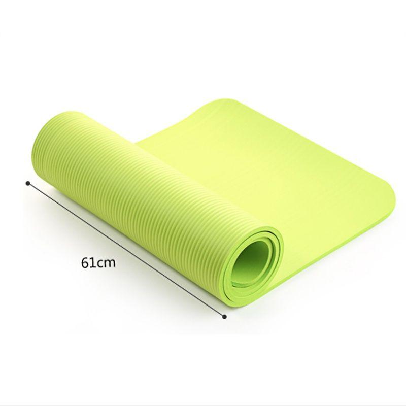 4 farben Yoga Matte Übung Pad Dicke, Nicht-slip Folding Gym Fitness Matte Pilates Lieferungen Non-skid Boden spielen Matte