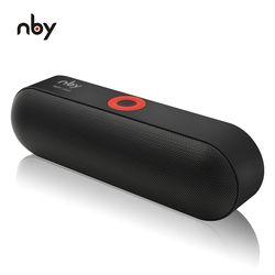 NBY S18 Tragbare Bluetooth Lautsprecher mit Dual Fahrer Lautsprecher, 12 Stunden Spielzeit, HD Audio Subwoofer Drahtlose Lautsprecher mit Mic