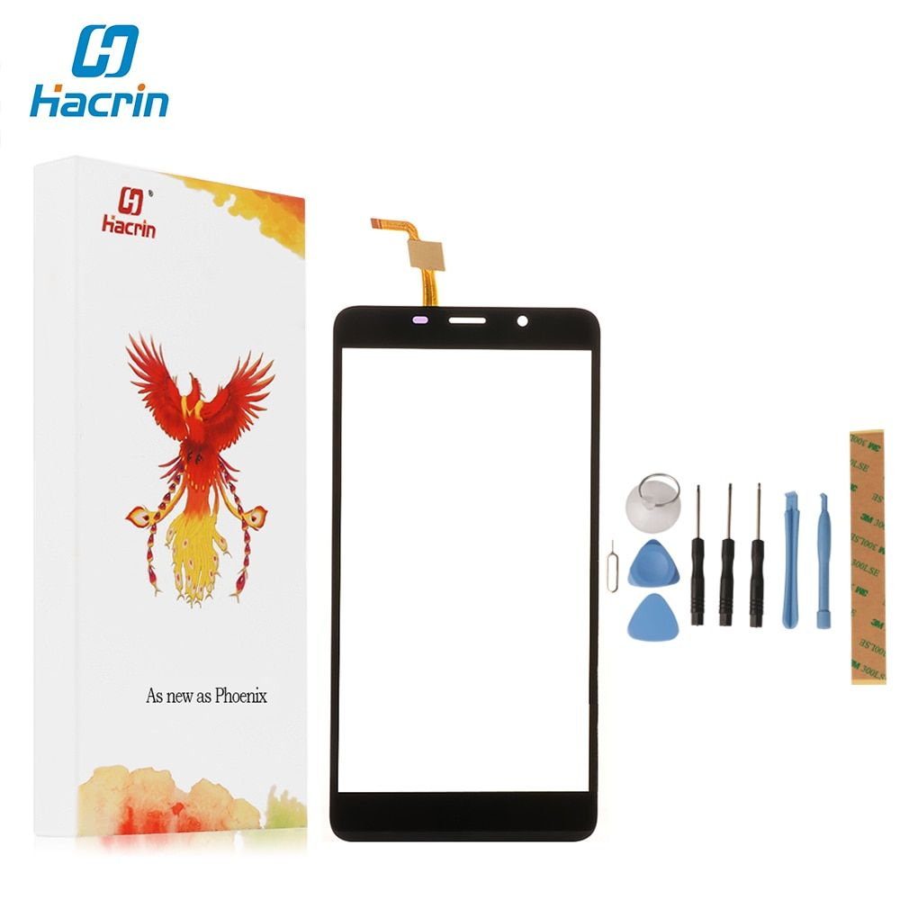 For Leagoo M8 Touch Screen hacrin 100% New Digitizer Touch Glass Panel Replacement For Leagoo M8 Pro Smart Phone in Stock