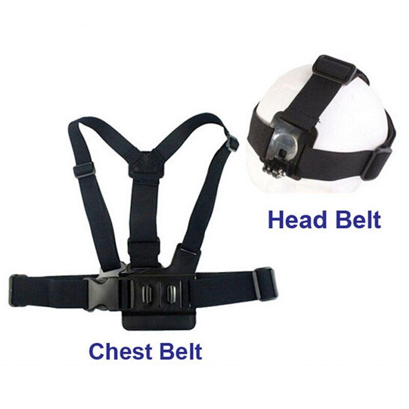 Strap Auffanggurt Verstellbare Elastische Brustgurt + Kopf Gürtel Für GITUP, GoPro Hero 3 +/3/2/1, SJ4000 SJ5000 SJ7 SJ6 M20 Kamera