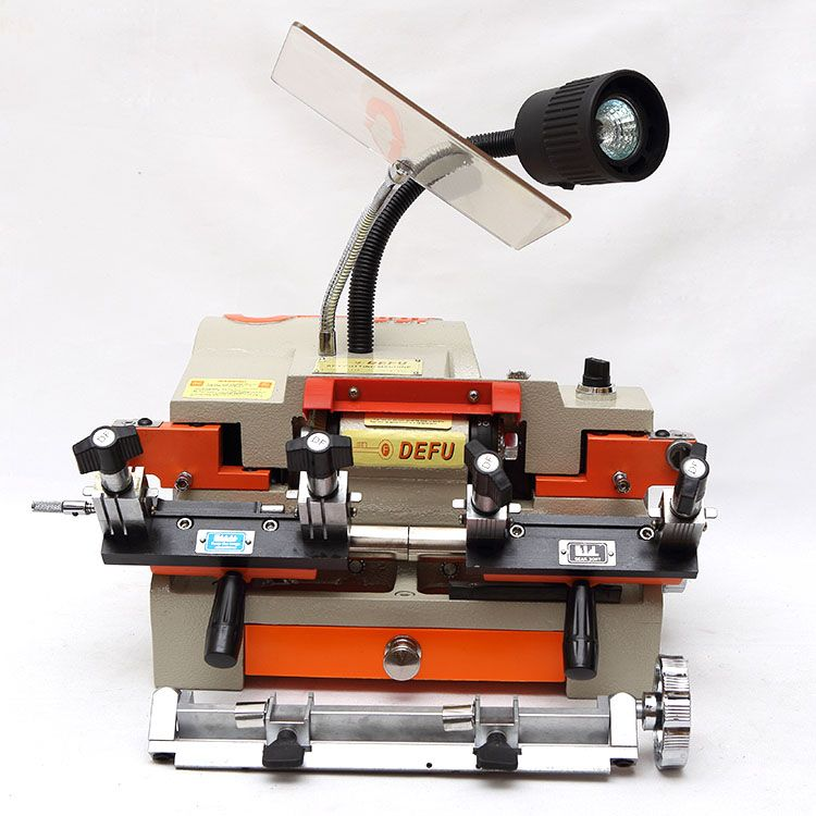 Newest Latest Advanced Best Multi function 100-E1 All Defu Duplicate Car Key Cutting Machine For Sale Locksmith Tools