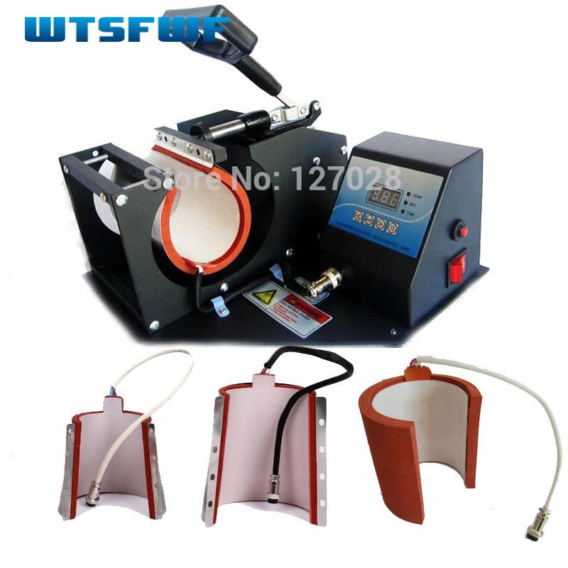 Wtsfwf chaud 4in1 numérique tasse Sublimation transfert imprimante Machine tasse chaleur presse imprimante Machine