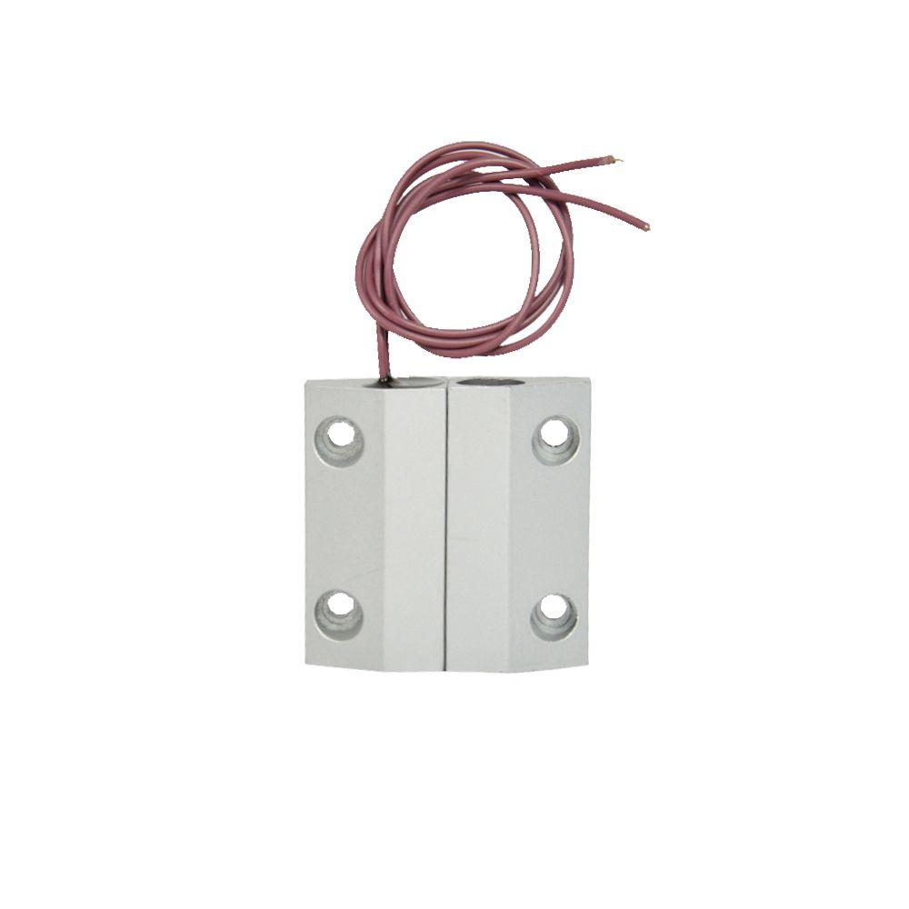 (1 пара) проводной магнитный переключатель сигнализация открытой двери окна сигнализации NC сигнал тревоги безопасности стали материал упра...