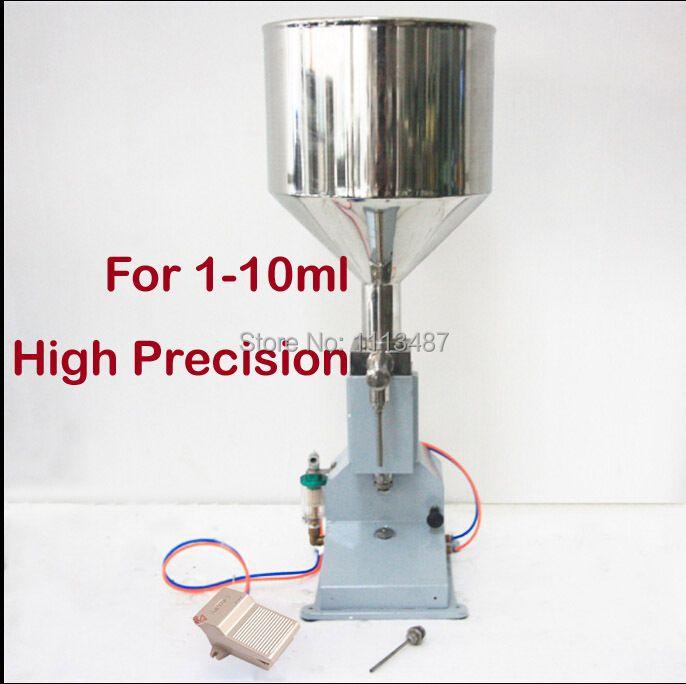 Hohe Qualität Pneumatische Paste & Flüssige Füllung maschine Füllstoff 1-10 ml