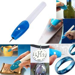 High quality Useful Mini Electric Engraving Engraver Pen Machine Carve Tool For DIY Jewelry Metal Glass Engraver Pen Kit