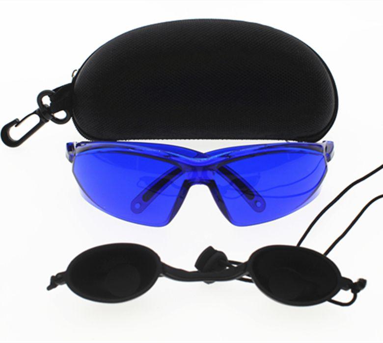 IPL lunettes de sécurité protection des yeux rouge laser lunettes de sécurité Médicale Lumière Patient De Protection E lumière œilleton pour IPL Beauté