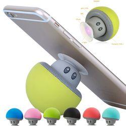 Musicalmente teléfono pop soporte altavoz MP3 player Bluetooth pequeña seta mano soporte para xiaomi iphone samsung socket