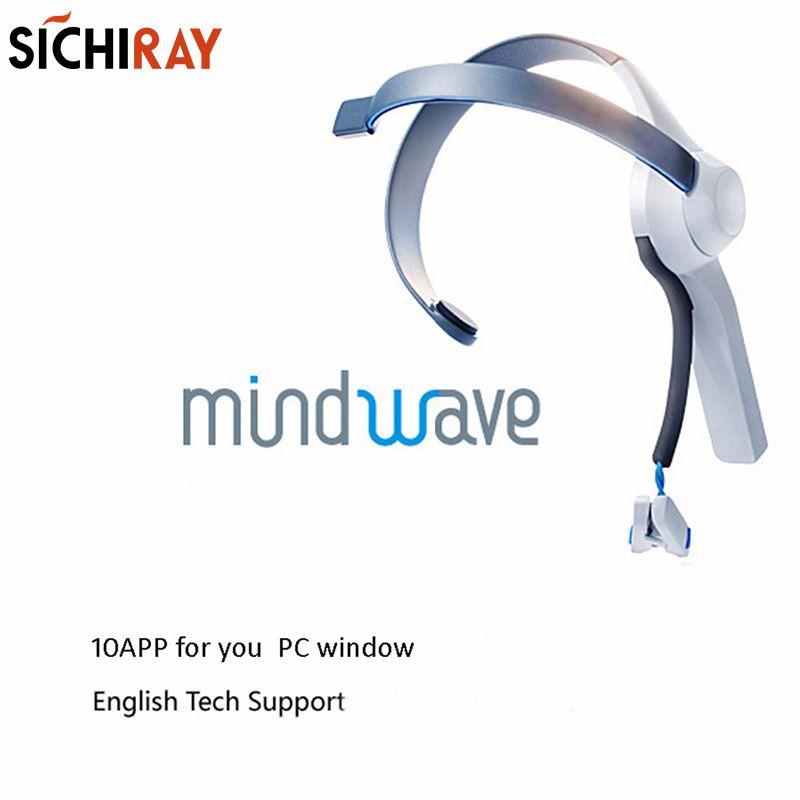 Mindwave Headset International Rf Version Brainwave EEG Sensor For Neurosky Mindwave Games Mind Training Toys Powered By TGAM