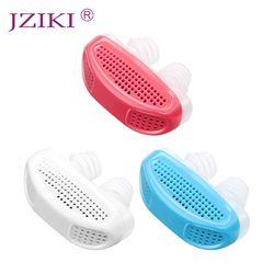 Silicona Anti ronquido dispositivo dilatadores nasales Apnea del sueño ayuda parar ronquido tapón Clip de la nariz Anti-ronquido purificador de aire limpio