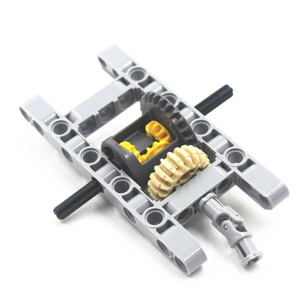MOC blocks Technic Parts 1SET Technic FRAMED DIFFERENTIAL GEAR SET Kit Pack Chassis Part Chassis Part Compatible With Lego