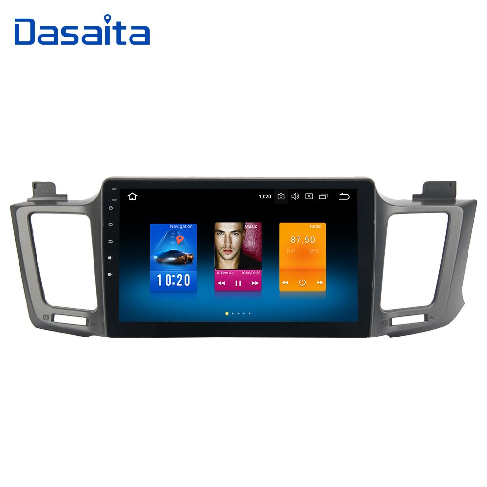 Dasaita 10,2 Android 8.0 Auto GPS Radio Player für Toyota RAV4 2014 2015 2016 mit Octa Core 4 gb + 32 gb Auto Stereo Multimedia