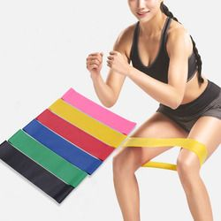 Fitness Stretching Belt Elastic Exercise Resistance Bands Training  Arm And Waist Leg Training