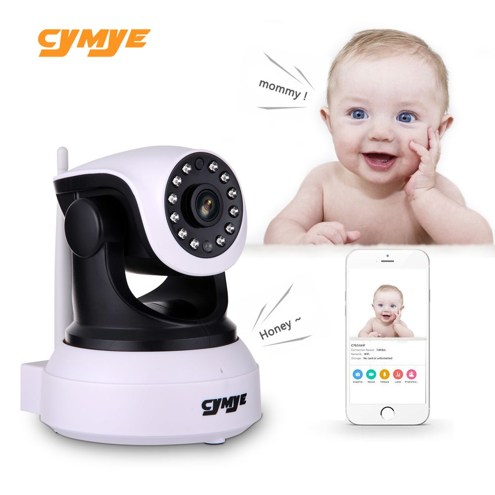 Cymye HD Ip Camera Wireless Wifi Security Camera Video Surveillance Night Network Baby Monitor C7824WIP OEM by Vstarcam