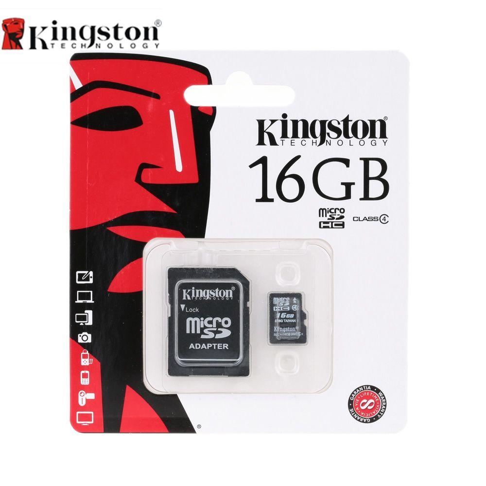 Kingston 8 GB 16 GB Micro SD Carte Mémoire Carte Class4 Microsd Cartao Memoria Tarjeta Carte Mémoire Micro SD Tf Carte Pour Smartphone