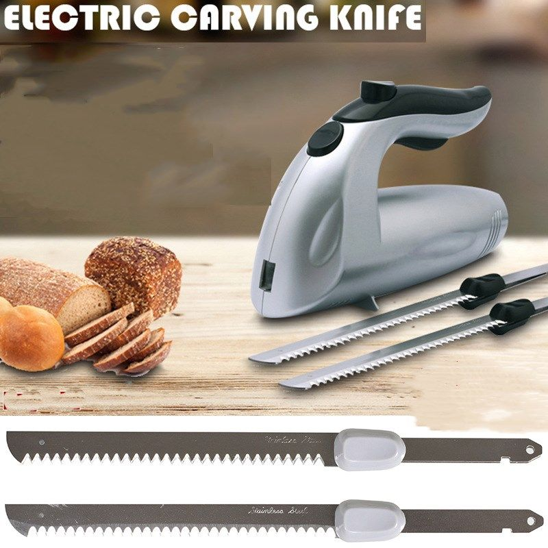 Multifunction Electric Knife Bread Cutting Machine Freeze Frozen Meat Cut Saw Slicer Kitchen Appliances Bakeware Tool EU US Plug