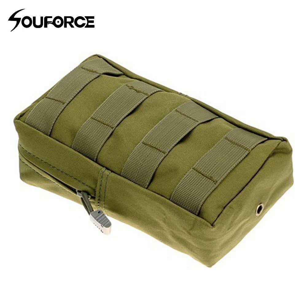 7 Farbe Tactical Kit Wasserdicht Zubehör Tasche Molle tasche 20x11x6 cm für Jagd Tactical Rucksack Hängen zubehör