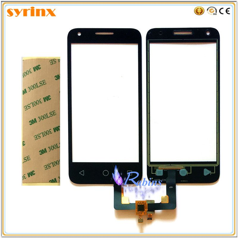 4.5 inch Front Glass For Alcatel One Touch Pixi 3 4.5 4027D 4027X 5017 5017E VF795 OT4027 4027 Smart Speed 6 Touch Screen Panel