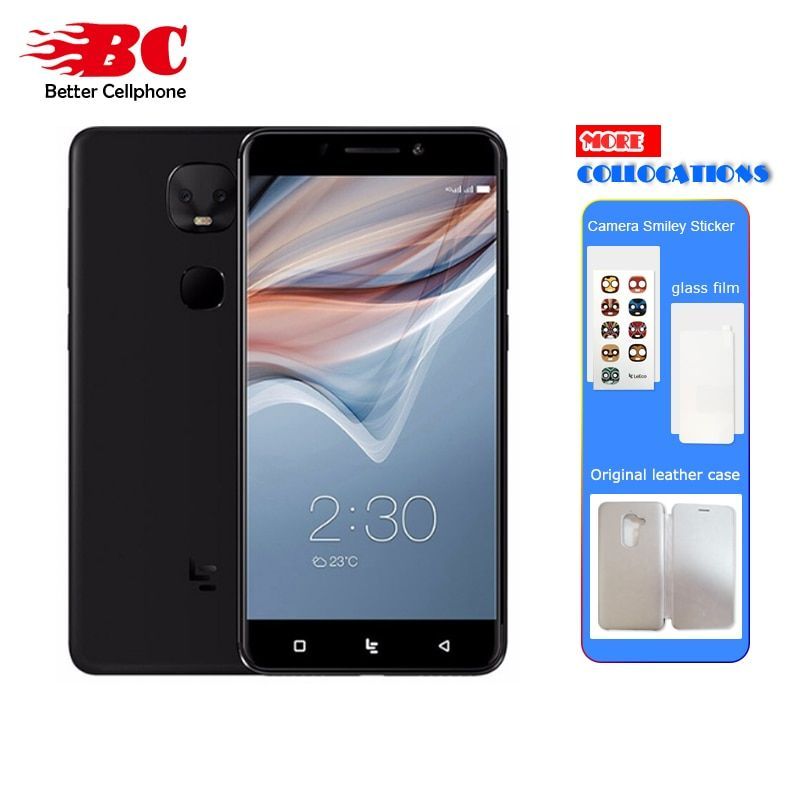 Letv <font><b>Leeco</b></font> Le Pro 3 X650 X651 Dual AI Mobile Phone Android 6.0 MTK6797 Deca Core 2.6GHz 5.5 4G+32GB/64G 13MP Dual Back Camera