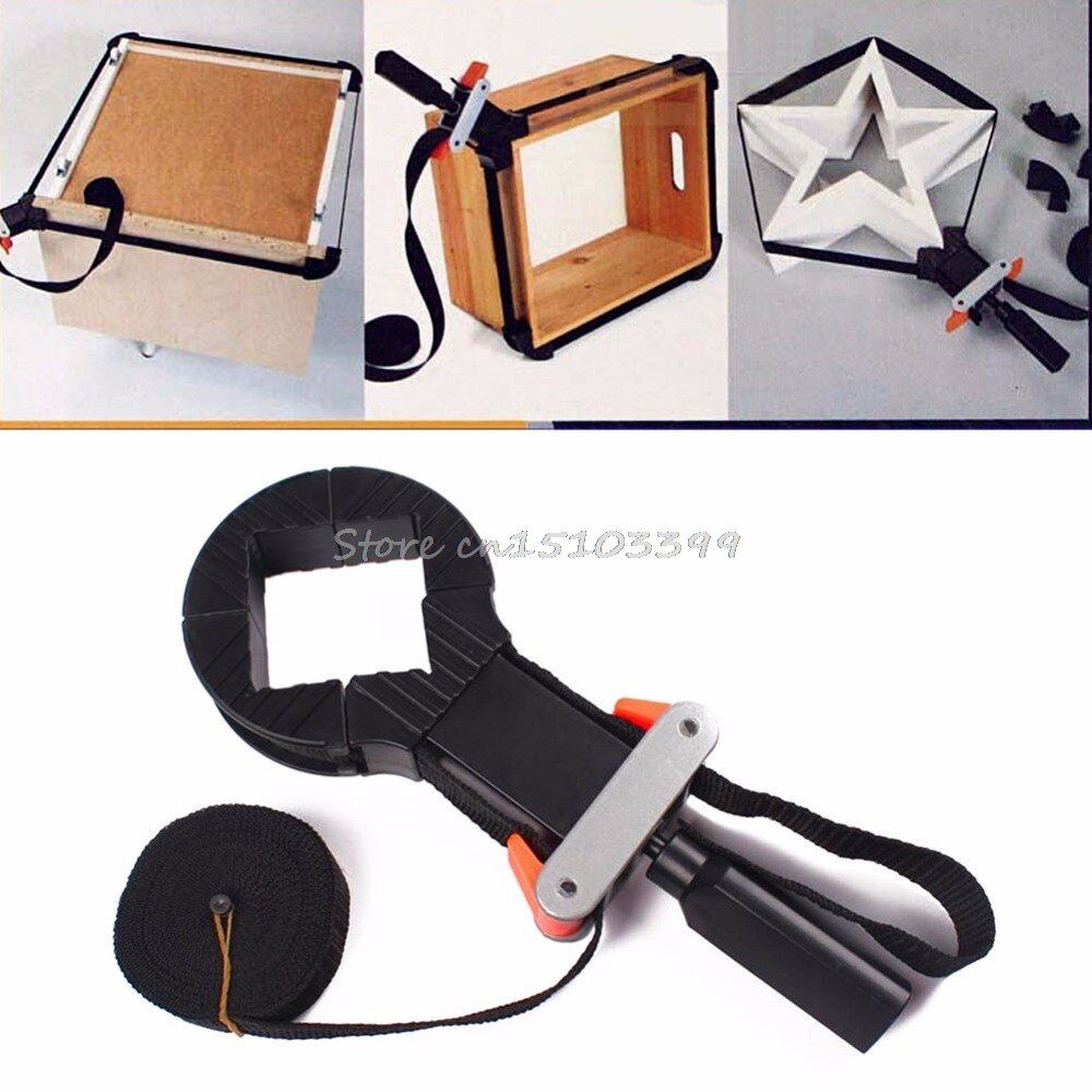 4 Jaws Band Rapid Corner Clamp Strap Holder For Woodworking Drawer Picture Frame #G205M# Best Quality