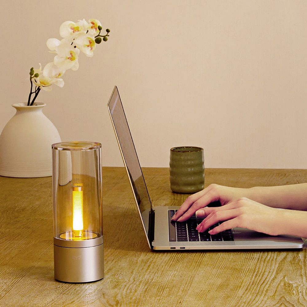 Xiaomi Mi Yeelight YLFW01YL Smart Candela Light 6W LED Wireless Mijia App Control Yellow Home Light For Atmosphere Lamp Bedroom