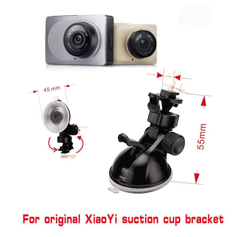 For Xiaomi YI GoPro Smart Car DVR 360 Degree Rotating Car Holder for Sport DV Camera Mount DVR Holders Driving Recorder Car Cup