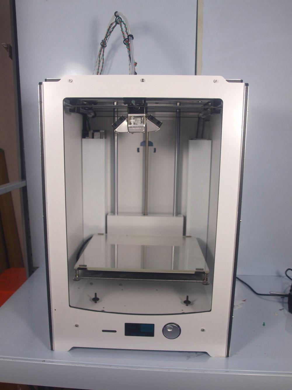 Blurolls Ultimaker 2 extended 3D printer DIY full kit(not assemble) Ultimaker2 Extended dual nozzles 3 D printer,dual extruders