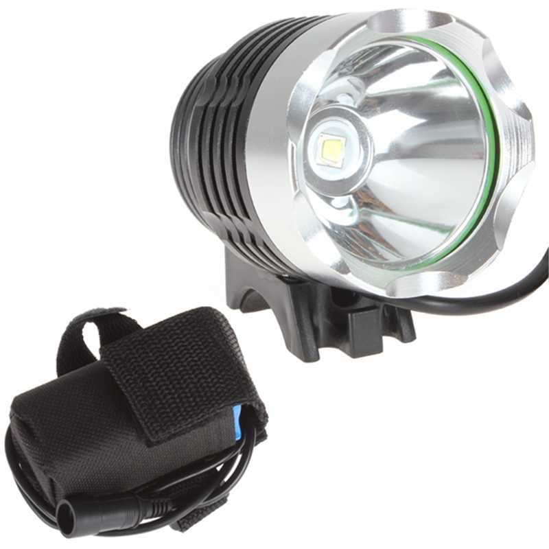 WasaFire New 1800lm XML T6 LED Bicycle lanterna bike Headlamp HeadLight Lamp Flashlight Lights 6400mAh battery farol bike light