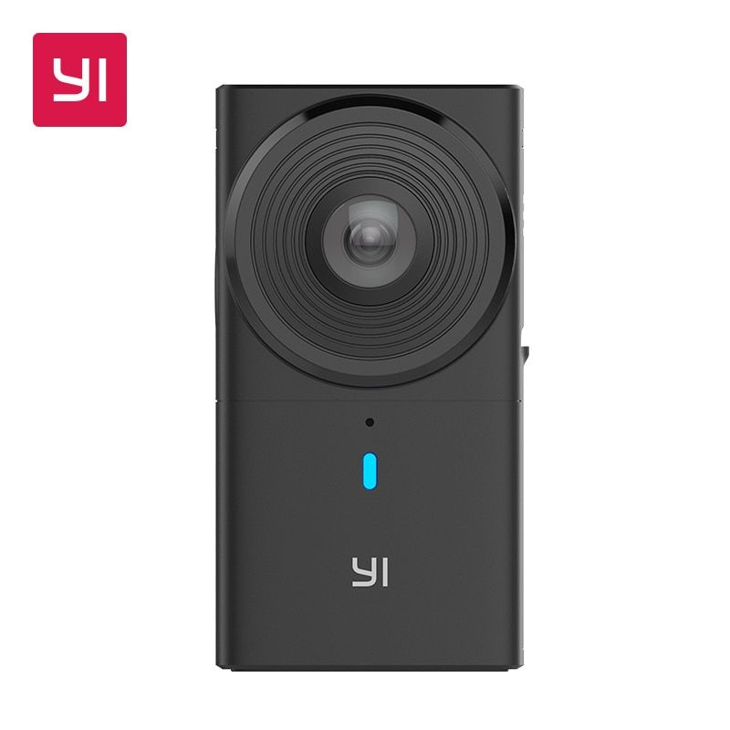 YI 360 VR Camera Dual-Lens 5.7K HI Resolution Panoramic Camera with Electronic Image Stabilization, 4K in-Camera Stitching
