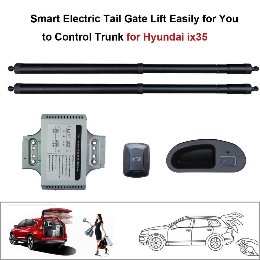 Режим Smart Auto Электрический хвост ворота подъемник для Hyundai ix35 Управление по удаленного диска сиденье хвост ворота и пуговицы комплект высот...
