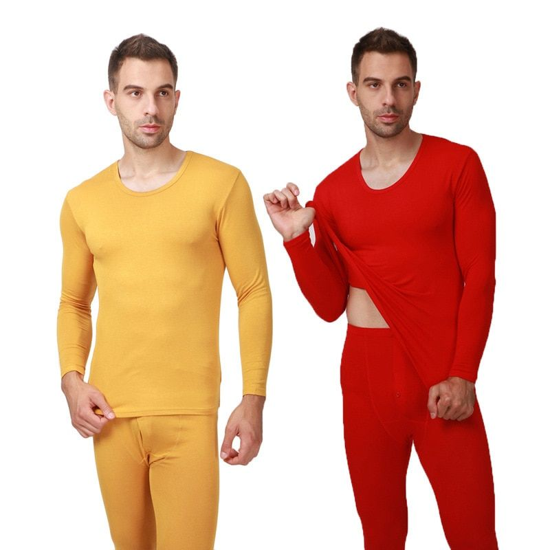 2017 OTOÑO INVIERNO nuevos hombres long johns ropa interior térmica delgada modal hombres ropa interior caliente más el tamaño XL-6XL, 7XL, 8XL, 9XL