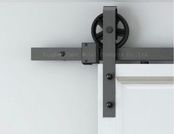 Free shipping Dimon DM-SDU 7210 hot sell heavy wooden sliding door hardware without sliding track