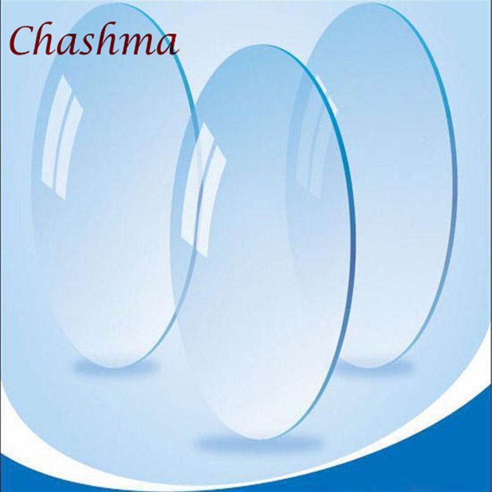 Chashma Marque Lentilles 1.61 Indice Effacer Lentille Yeux Optique Lunettes Personnaliser Prescription Lentilles