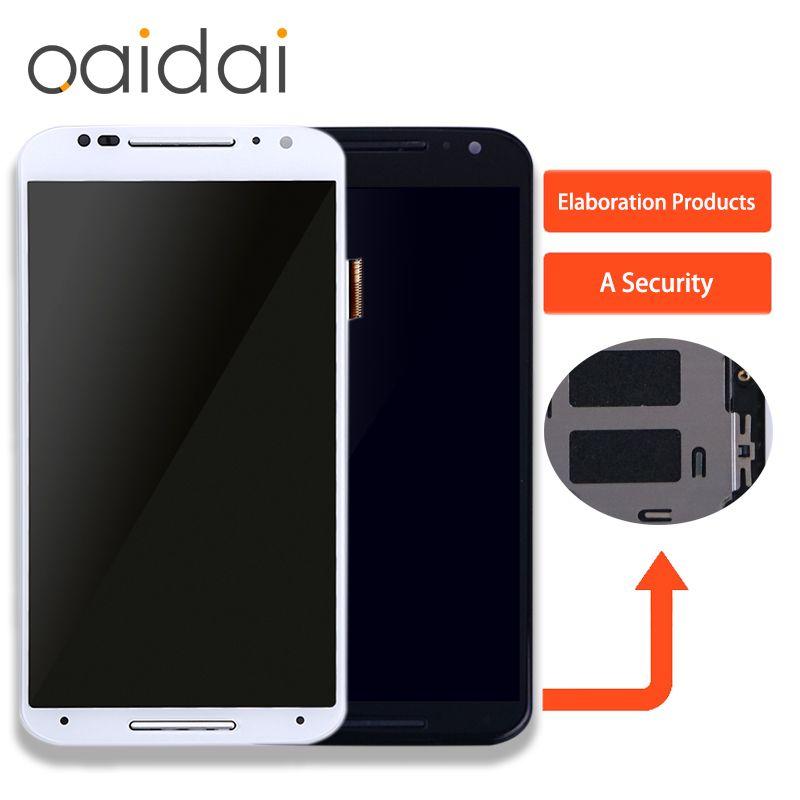 Für Motorola Moto X2 Xt1092 Xt1095 Xt1097 LCD Display Touchscreen Telefon Digitizer Assembly Ersatzteile Mit Kostenlose Tools