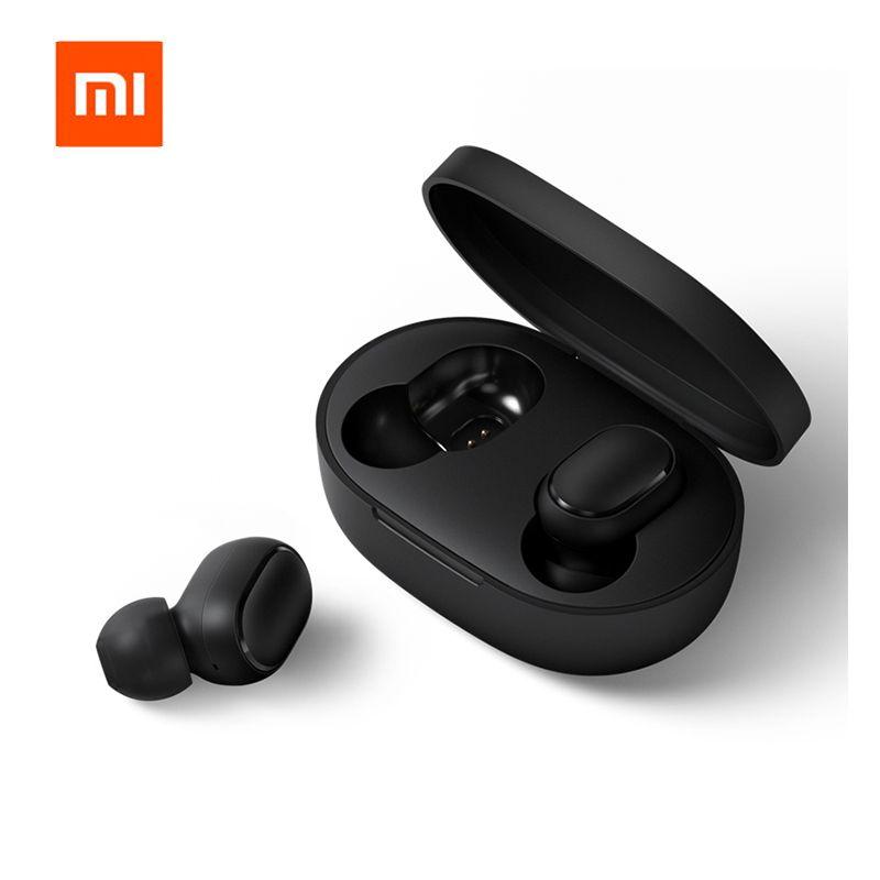Xiaomi Redmi Airdots Xiaomi écouteur sans fil contrôle vocal Bluetooth 5.0 réduction du bruit contrôle du robinet