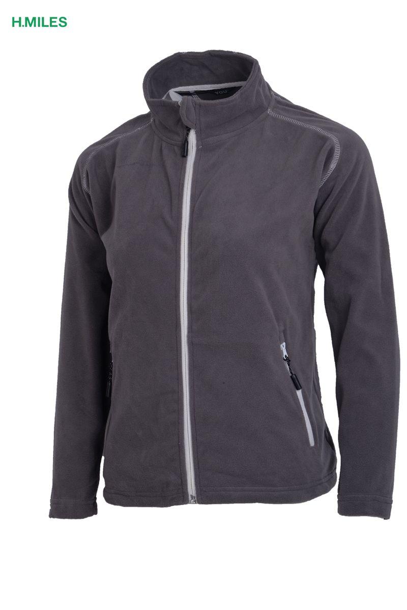 HMILES children sportswear boys fleece jacket full zip hoodie winter windbreaker unisex gray girls hoody coat soft outwwear 2017