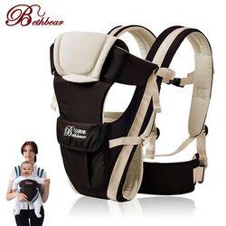 Beth Bear 0-30 meses transpirable frente bebé portador 4 en 1 infantil cómodo Sling mochila envoltura bebé Canguro nueva