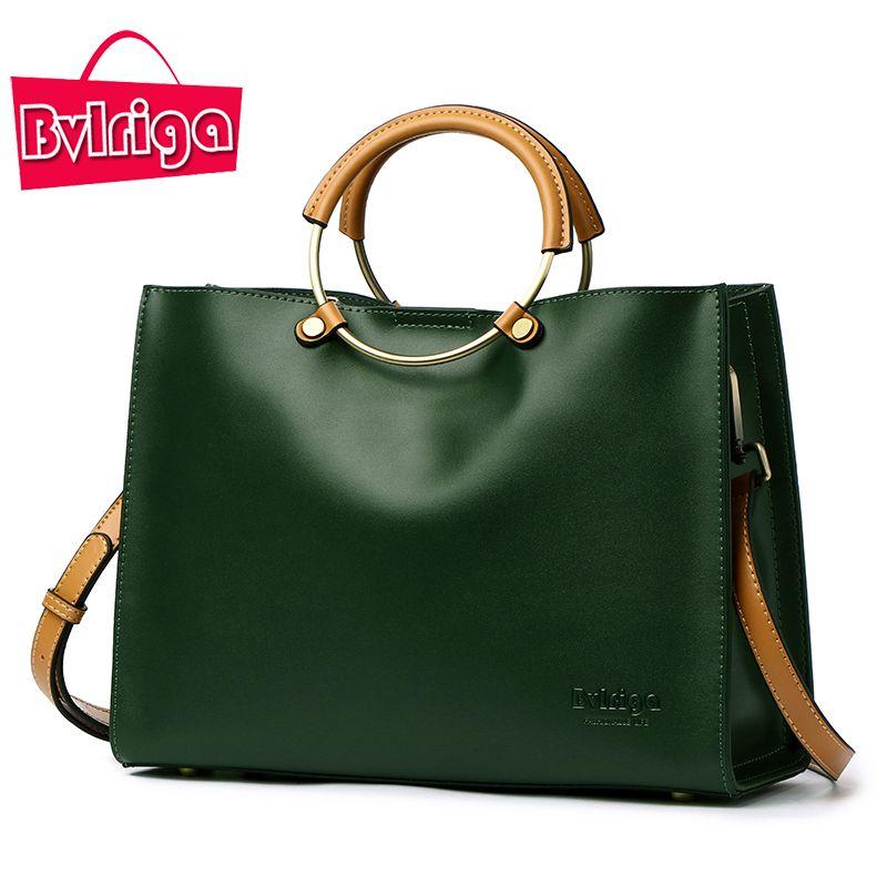 BVLRIGA Women Bag Luxury Handbags Women Bags Designer Female Genuine Leather Bag Handbags Women Famous Brand women messenger bag