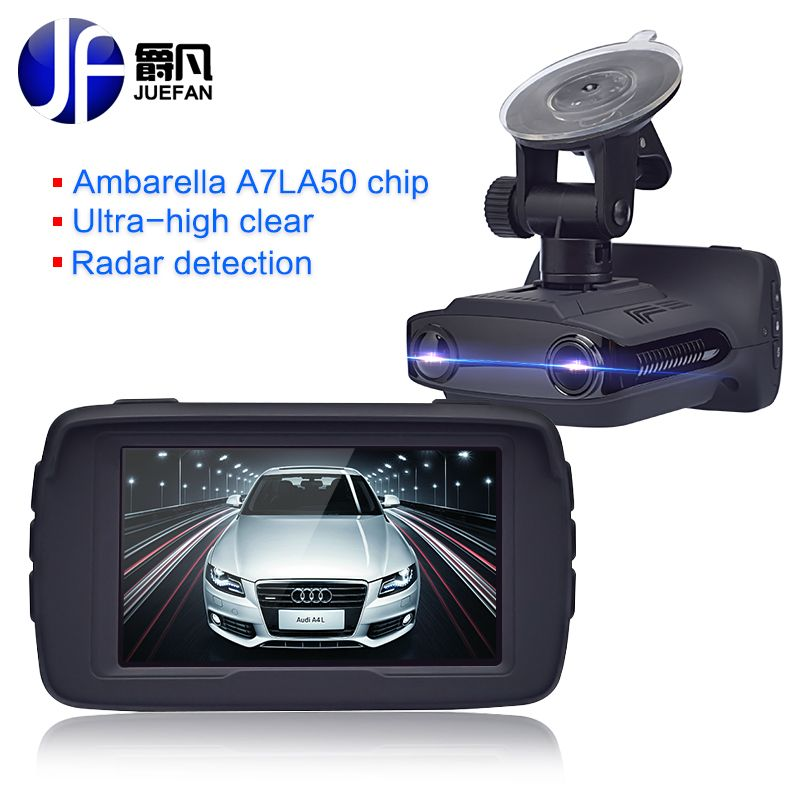 New Registrar Car DVR Radar Detector GPS 3 in 1 Car Detector Camera Full HD 1296P Speed Cam Anti Radar <font><b>Mini</b></font> Car Dash Cam Camera
