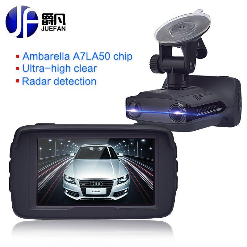 New Registrar Car DVR Radar Detector GPS 3 in 1 Car Detector Camera Full HD <font><b>1296P</b></font> Speed Cam Anti Radar Mini Car Dash Cam Camera
